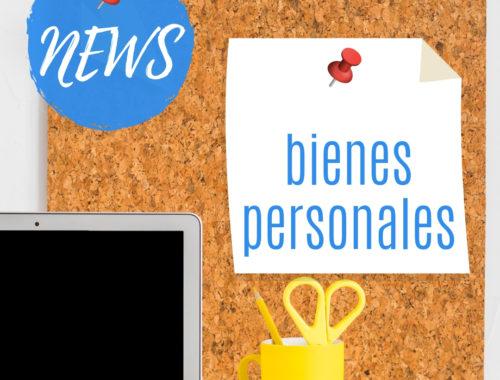 news post bienes personales