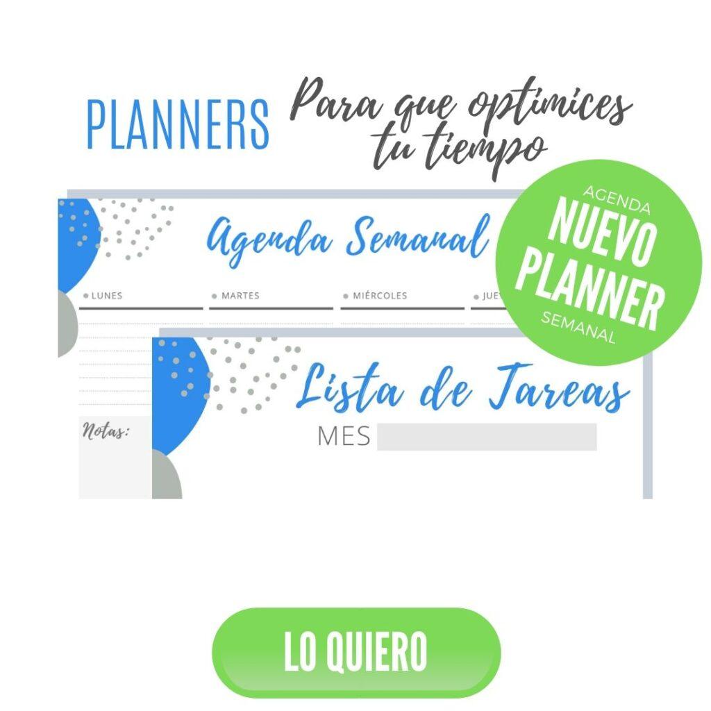 abc emprendedor recursos gratuitos planners mensual semanal
